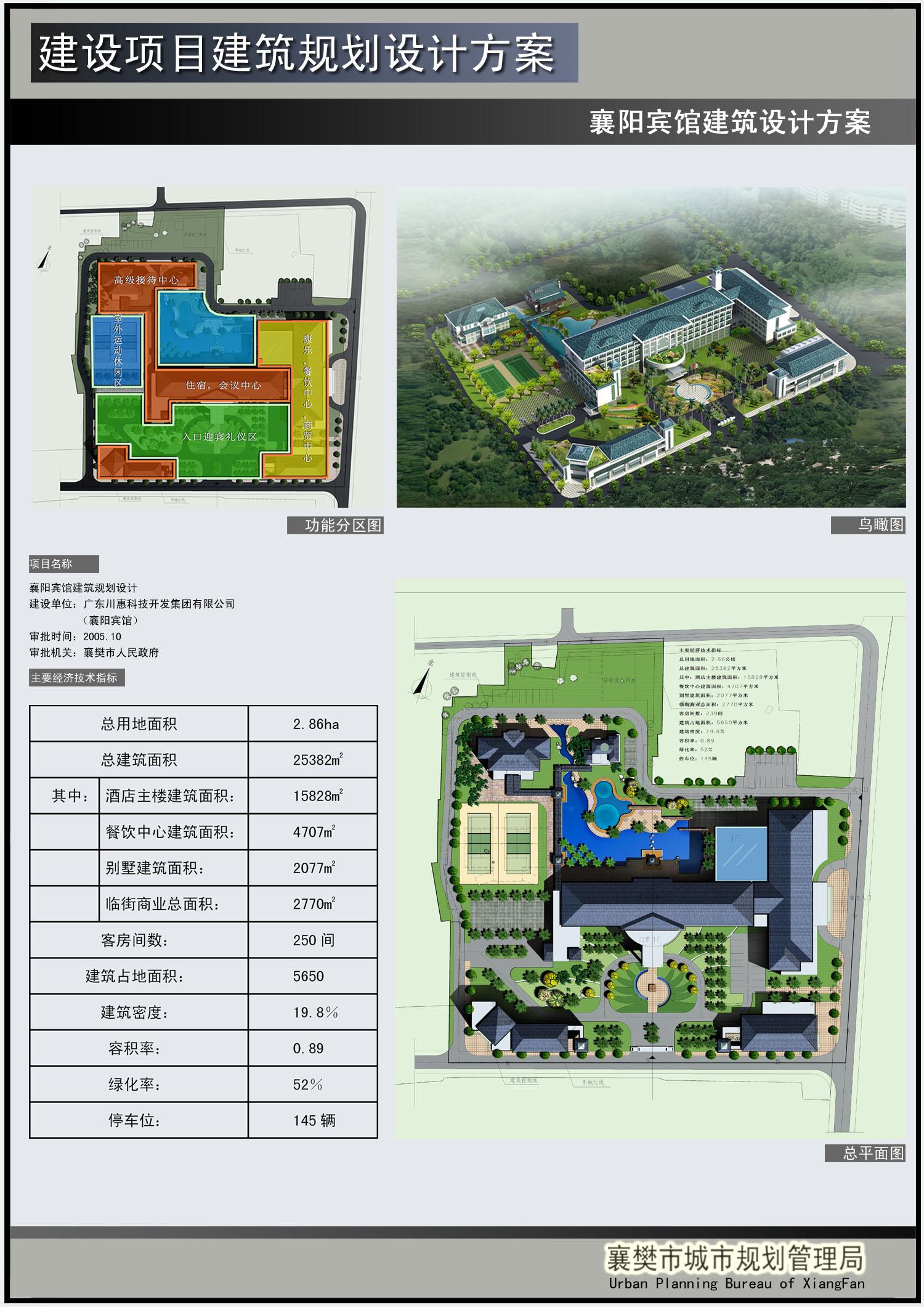 宾馆建筑设计方案